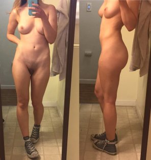 amateur photo Would you say I'm slim-thick? Just slim? I don't even know [f]