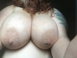 amateur photo Just some morning boobs