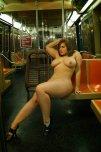 amateur photo On a subway