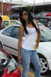 amateur photo Lovely babe in the street