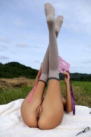 amateur photo Get Those Legs Up