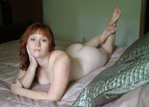 amateur photo Freckles...