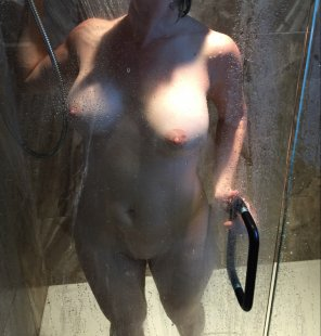 amateur photo My wife in the shower
