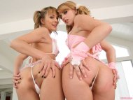 Lexi Belle and Blue Angel