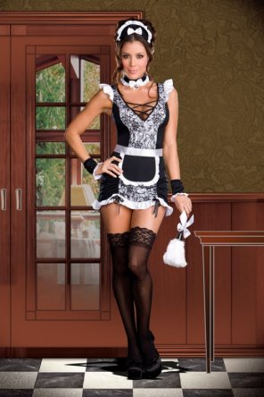 amateur photo French maid