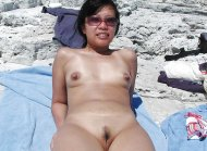 Asian Beach Snatch