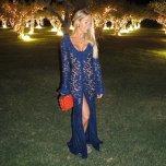 amateur photo Purple dress