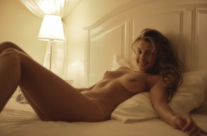amateur photo Sexy Maria Ryabushkina Relaxing in the Room