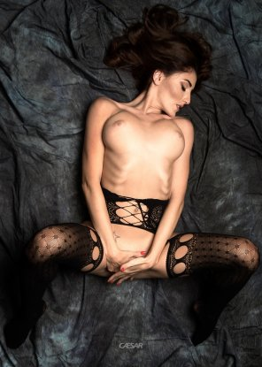 amateur photo Lace Stockings