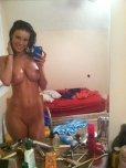 amateur photo Hot bathroom selfie