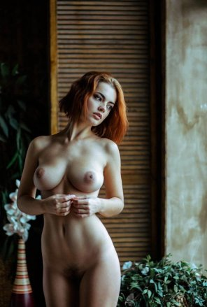 amateur photo Redhead
