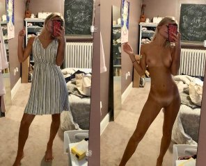 amateur photo Sundress Blonde