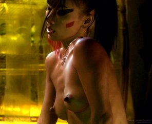 amateur photo Bai Ling's nipples could cut through glass