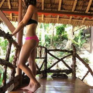amateur photo On a jungle vacation