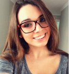 amateur photo Love a girls with glasses