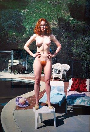 amateur photo Super hot ginger