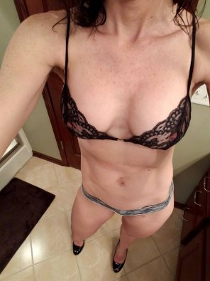 amateur photo Wife's bra maybe slightly see through