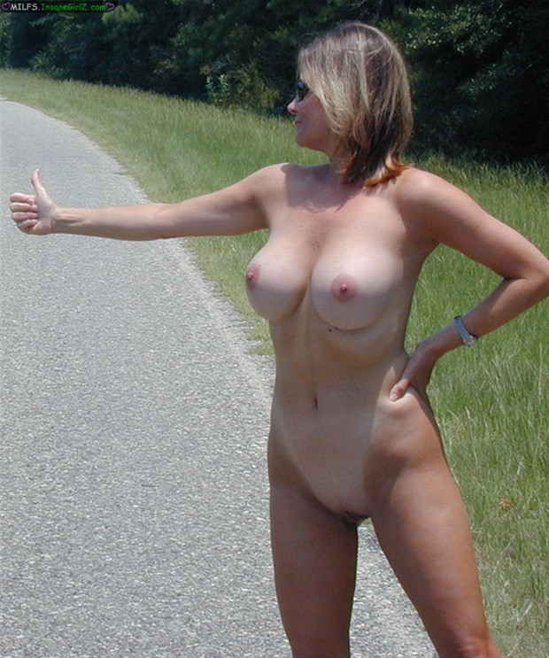 Opinion you hitchhiker milf think, that you