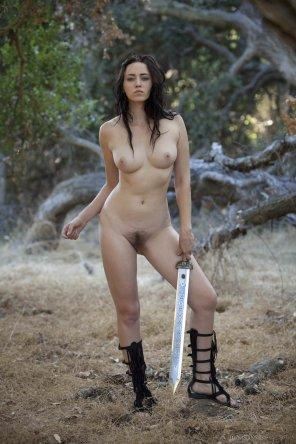 amateur photo Warrior Woman