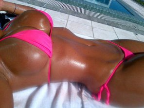 amateur photo Tanned