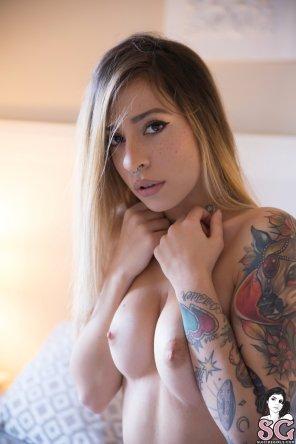 amateur photo Blonde Babe