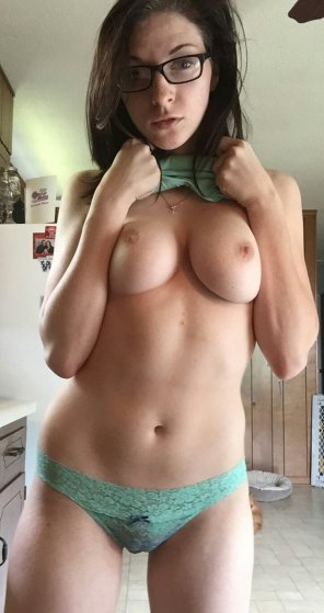 amateur photo Teal Panties