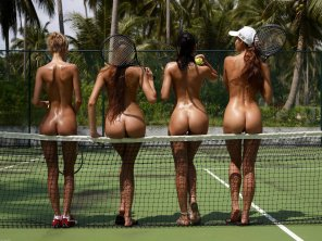amateur photo Tennis girls