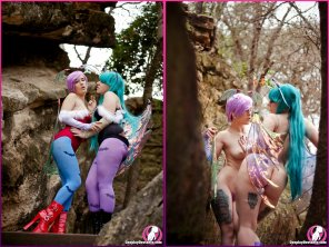 amateur photo [Darkstalkers] Lilith and Morrigan