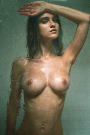 amateur photo Shower scene