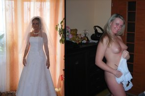 amateur photo Happy Bride