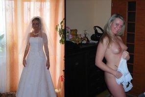 amateur photo Happy Bride