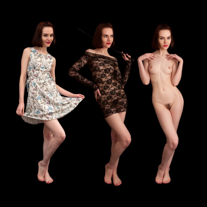 Dress? Bodystocking? or... Porno Zdjęcie