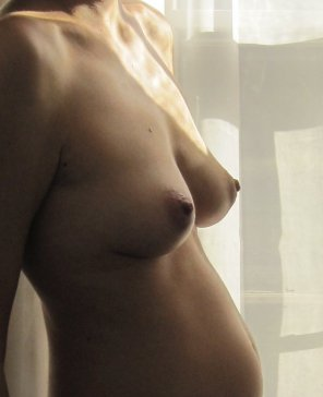 amateur photo [OC] Great pic of my pregnant Czech wife's breasts! Comments and tributes please! Ladies, we would love to know what you think!