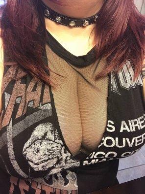 amateur photo New shirt! 😘