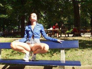 amateur photo At the park...