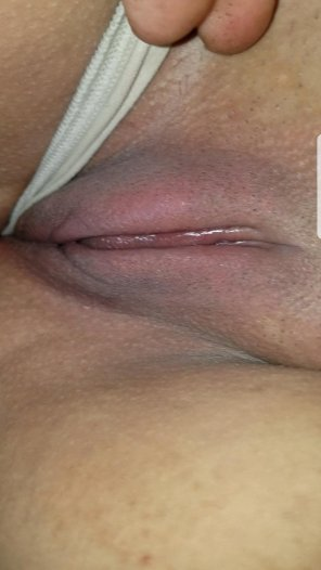 amateur photo My girls pussy a little swollen after I sucked on her clit