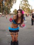 amateur photo Gorgeous rave girl