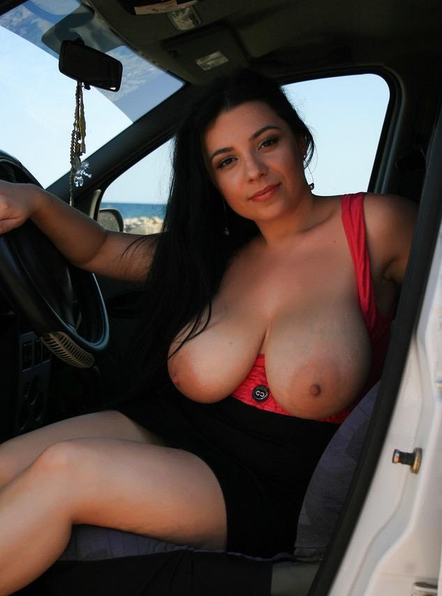 Car tits