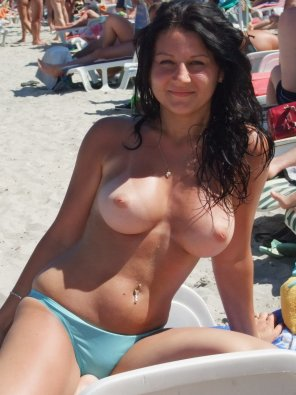 amateur photo Beach goer