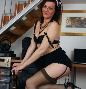 amateur photo Sophie the secretary