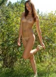 amateur photo Prancing around outside