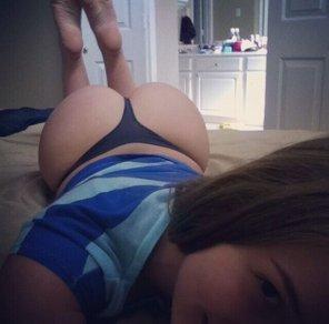 amateur photo simply put, a nice ass