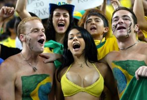 amateur photo Brazilian fans