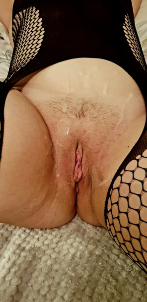amateur photo Fiancée got covered but I wanted to taste creampie. Who would do the job properly? F25