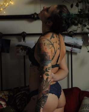amateur photo Love tattoos