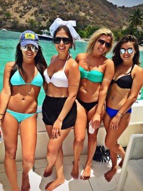 amateur photo Bachelorette Boat