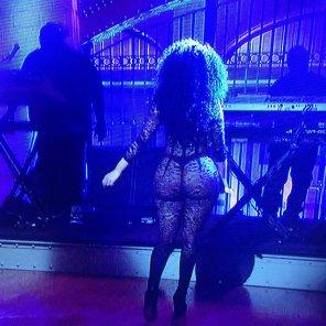 amateur photo Nicki Minaj on SNL