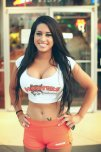 amateur photo Hooters gal