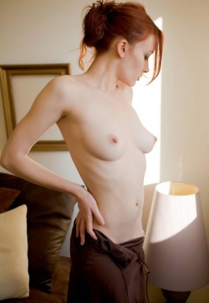 amateur photo In a state of undress