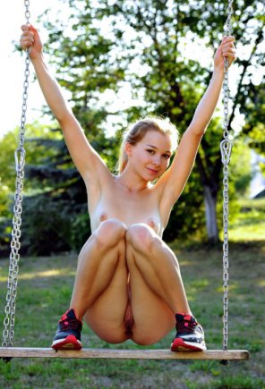 amateur photo On the swing...